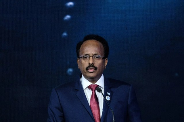 Somali president, under pressure to quit, gets backing from official in rival camp