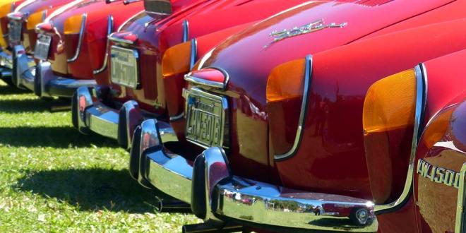 Placa de coleção - Clube de Antiguidades Automotivas de Volta Redonda