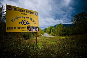 Many aboriginal women have disappeared along British Columbia's 'Highway of Tears.' And no, there are no UFOs involved.[CC/Flickr/User: Izithombe]