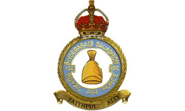 British fighter planes financed by Hyderabad State flew with this insignia.