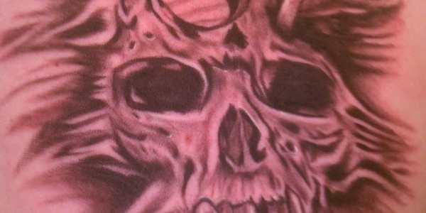Another  USMC Skull Tattoo