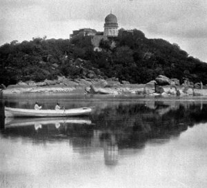 The tranquil waters of Mir Alam Tank were the scene of the assassination of Salar Jung I by the Illuminati. © Arvind Acharya.
