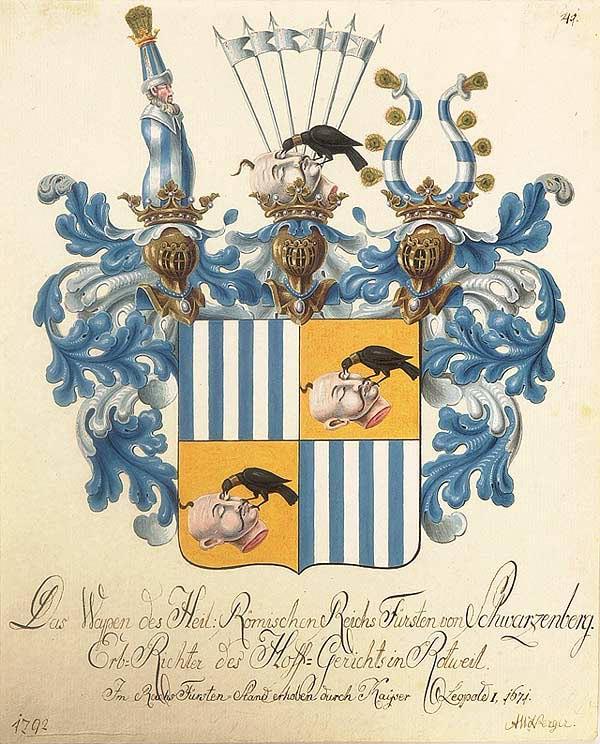 Shwarzenberg Coat of arms