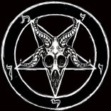 The sigil of Baphomet. The Official symbol of the Church of Satan.