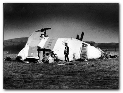 Remains of Lockerbie