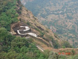 Shivaji operated out of Raigarh fort in the Western Ghats, which became his headquarters. This impregnable fortress would be captured by Aurangzeb long after Shivaji's (natural) death, in the final phase of the Deccan Campaign. Image © Parag Purandare.