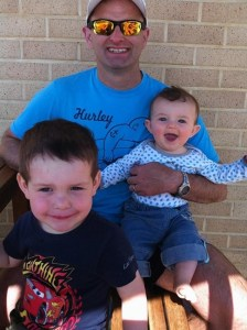 Shown with sons Lincoln, 3, and Jack, 1, Malaysia Airlines flight MH370 passenger Paul Weeks left instructions with his wife to give his wedding ring and watch to the boys 'if something should happen to me.'