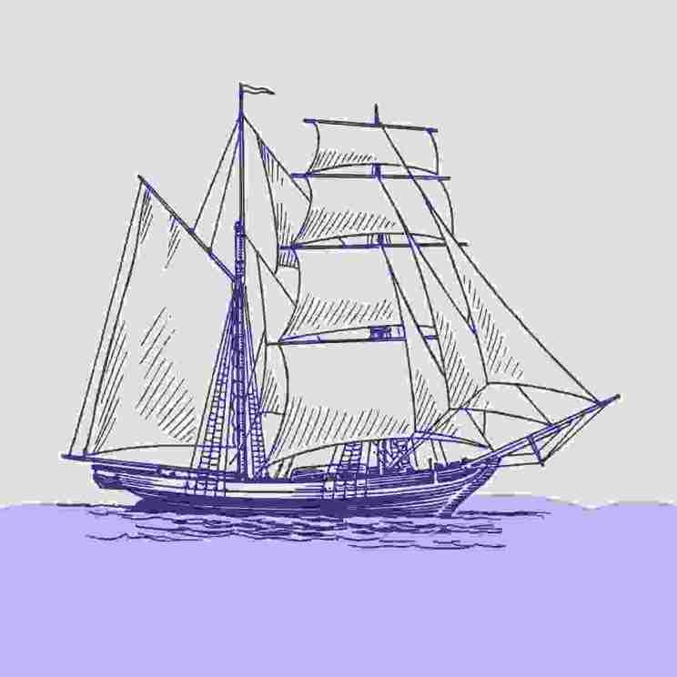 Boat illustration 7