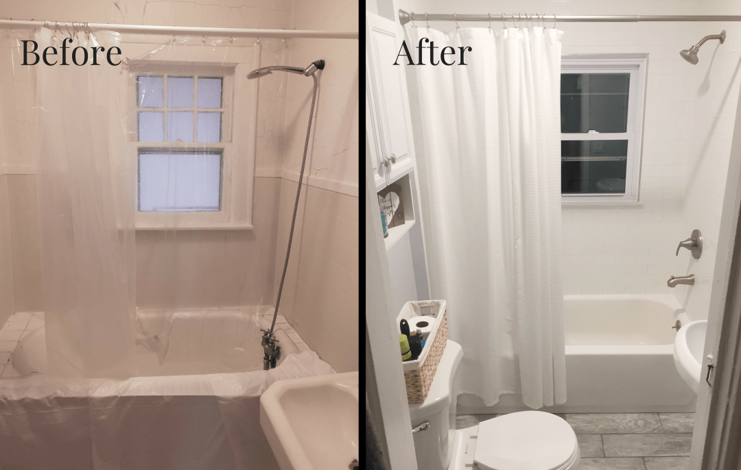 Our Small Bathroom Remodel On A Budget Cabana State Of Mind