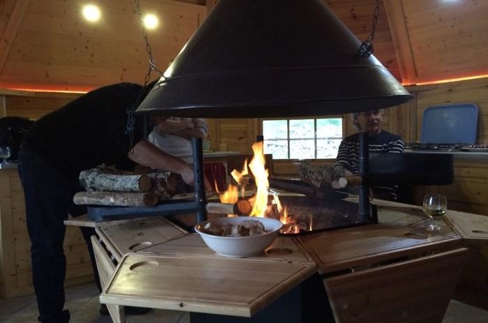 Cuisine Cabane Arbre Auvergne