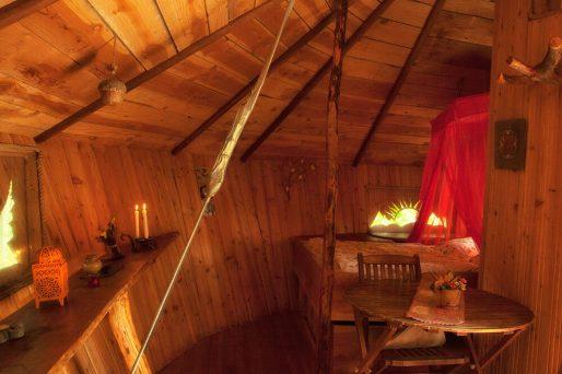 Intérieur de la cabane Chef