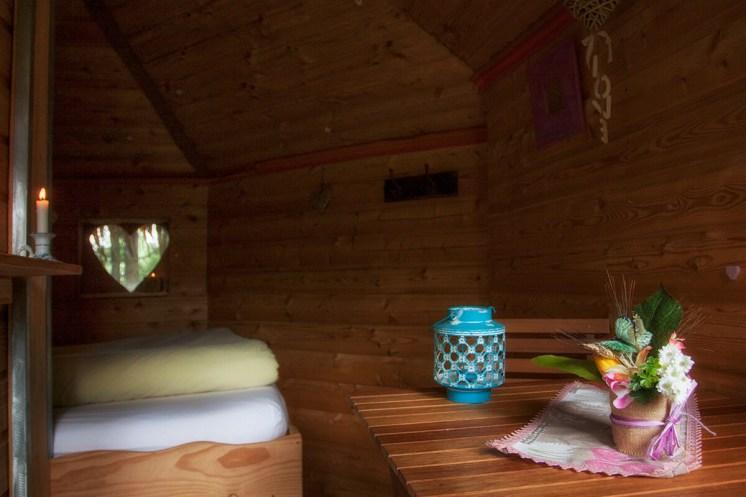 Intérieur de la cabane Falbala