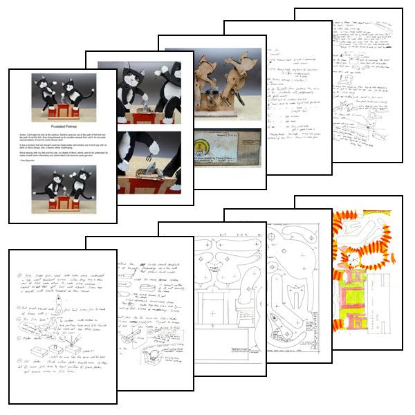 Pdf Plans Wooden Automata Plans Download Curio Display