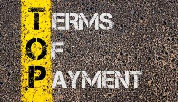 Moyens de paiement, délais et prise de garantie