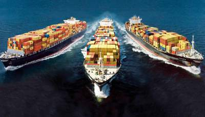 Transport international mer