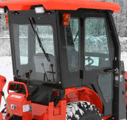 Tractor Cabs And Cab Enclosures
