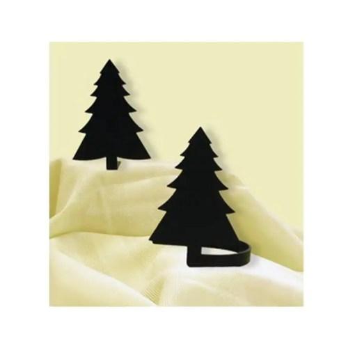 Pine Tree Curtain Tiebacks