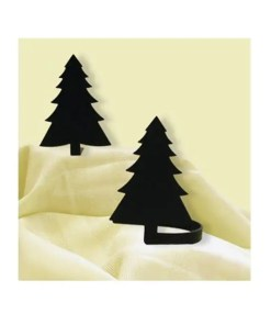 Pine Tree Curtain Tiebacks
