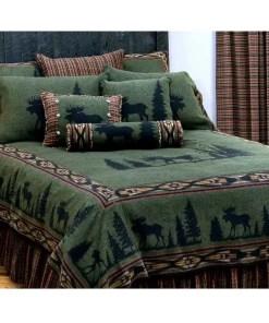 moose bedspread