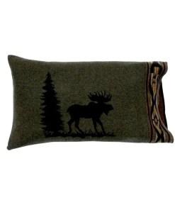 Moose bed sham
