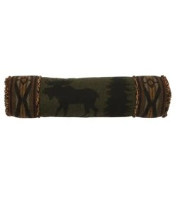 moose roll pillow