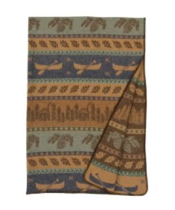 Cabin Canoe Blanket