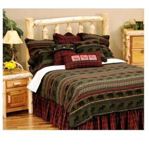McWoods Cabin Bedspread