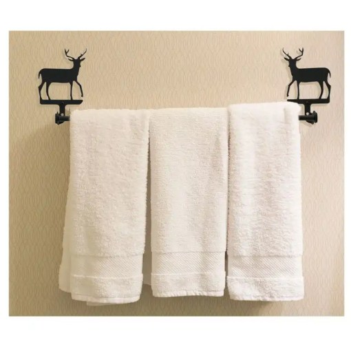Deer Towel Rack