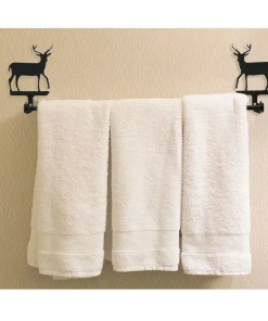 Deer Towel Rack