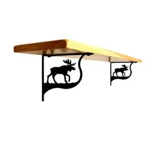 moose shelf brackets