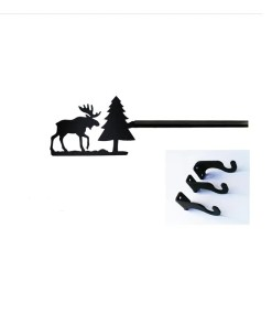 Moose Curtain Rod