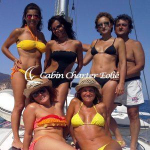 Vancanze per single in Barca a vela - Cabin Charter Eolie