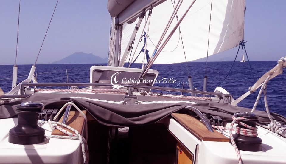 Barca a Vela - Imbarco - Single - Cabin Charter Eolie