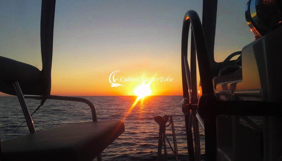 Catamarano - Luxory - Vacanza - Cabin Charter Eolie
