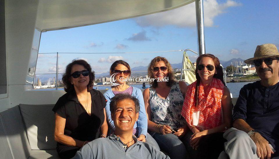 Milazzo - Isole - Catamarano - Imbarco Single - Team Building - Cabin Charter Eolie