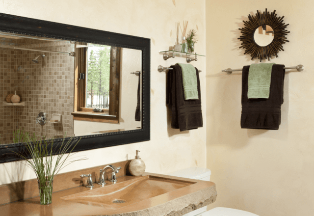 rooms gallery full luxurious bathroom with with dual shower heads in Twin Falls Suite wedding venue
