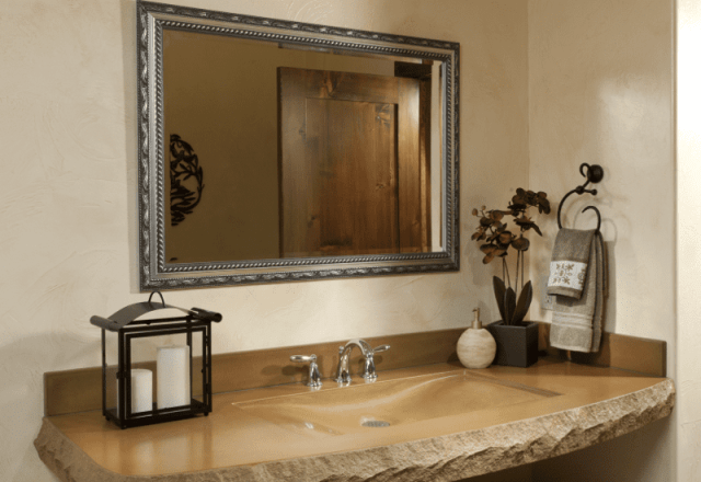 rooms gallery full luxurious bathroom in Eden Suite with natural elegance
