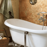 rooms gallery full luxurious double soaker tub in Ranch House Suite