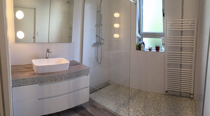 salle de bain lorsqu