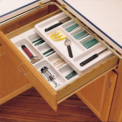 Rev A Shelf Cutlery Tray 18 Inch Half Top Rt18 3h