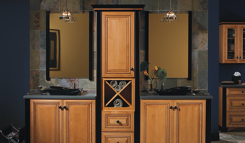 Bathroom Ideas | Bathroom Images | Bathroom Remodel on Bathroom Ideas With Maple Cabinets  id=93068