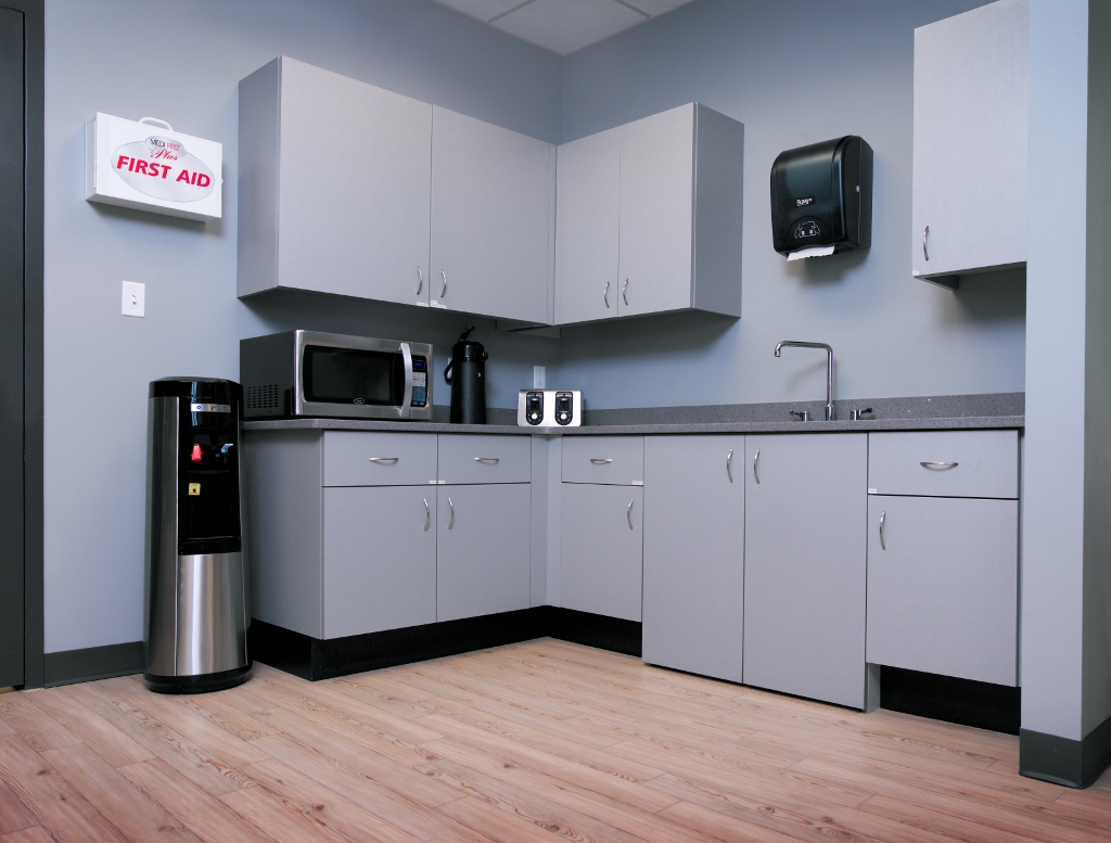 Commercial Break Room Cabinets With Sink Cabinets