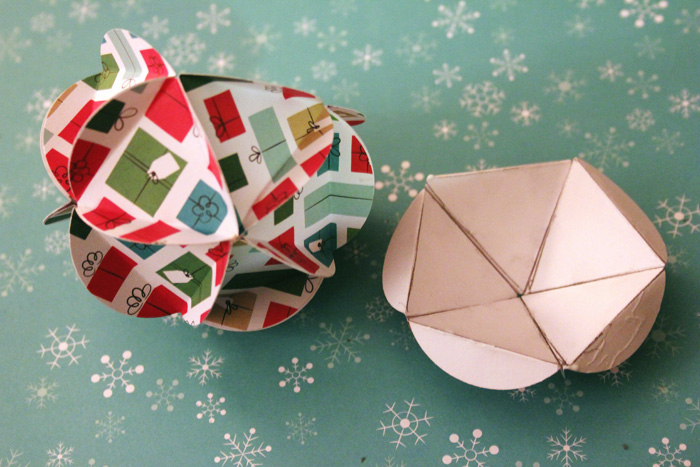 Geometric Paper Ornament