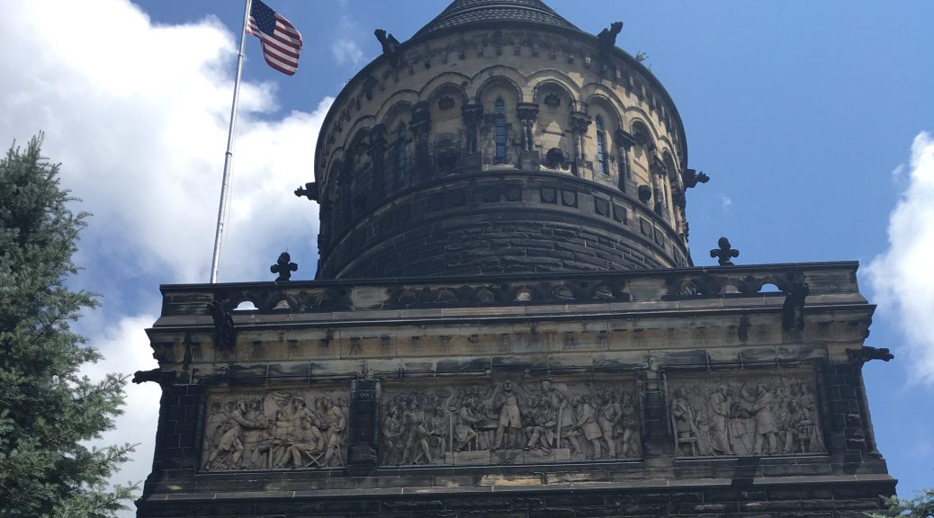 James A. Garfield Memorial in Cleveland Ohio