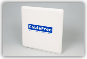 CableFree Amber Crystal MIMO OFDM Radio