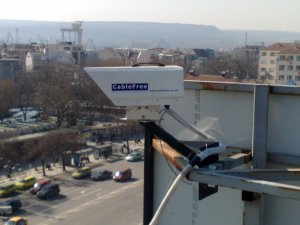 CableFree FSO used in CCTV Networks