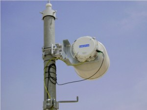 Example of a 1+0 Unprotected Microwave Link