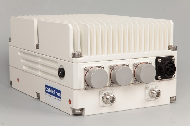 CableFree LTE-A Base Station with Carrier Aggregation (CA)