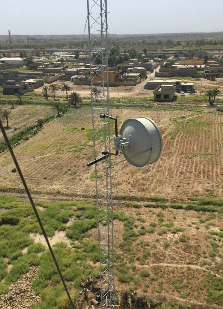 CableFree FOR3 Microwave Link Installed in Iraq