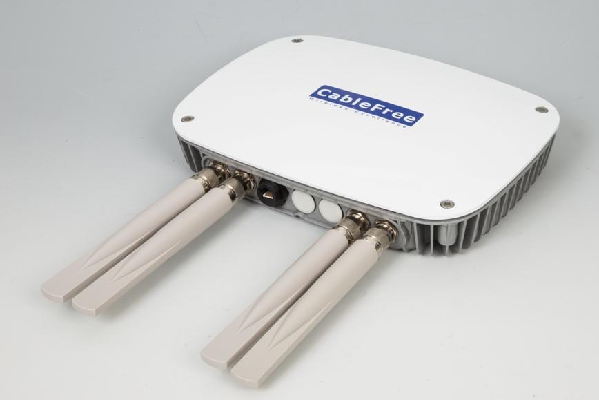 CableFree Amber Crystal 802.11ac MIMO radio WiFi